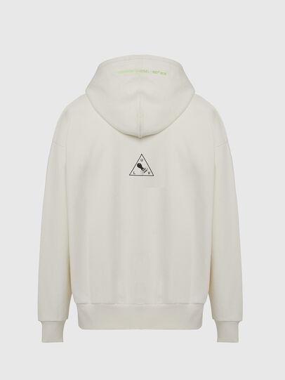 Diesel - S-ALBY-X2, White - Sweatshirts - Image 2