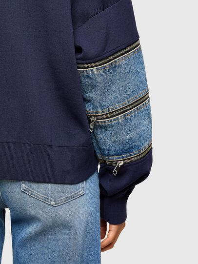 Diesel - M-AQUAMARINE, Blue - Sweaters - Image 3