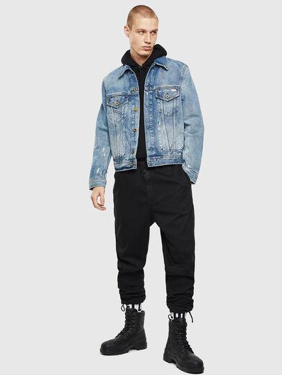 Diesel - D-BRAY, Blue Jeans - Denim Jackets - Image 6