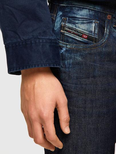 Diesel - D-Strukt Slim Jeans 09A20, Dark Blue - Jeans - Image 4