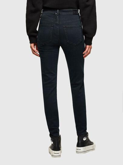 Diesel - Slandy High Skinny Jeans 009QG, Dark Blue - Jeans - Image 2