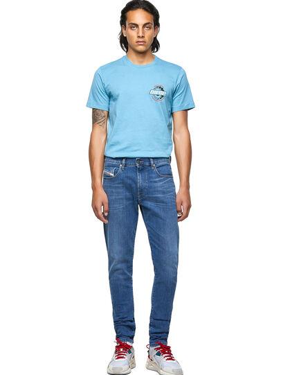 Diesel - D-Strukt Slim Jeans 09A80, Medium Blue - Jeans - Image 5