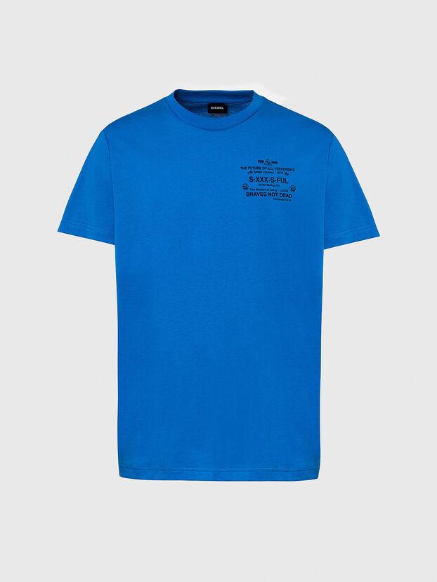 T-DIEGOS-X44, Blue - T-Shirts