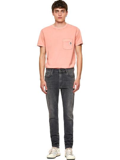 Diesel - D-Amny Skinny Jeans 09A18, Black/Dark Grey - Jeans - Image 5