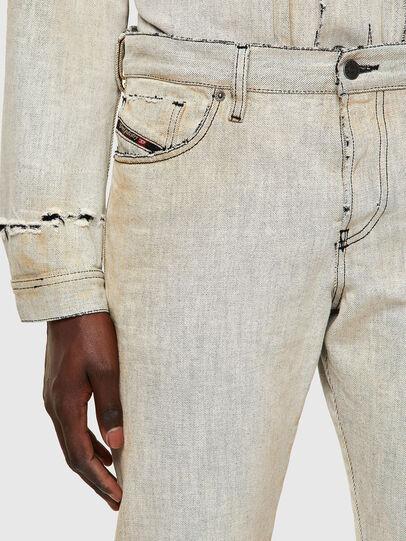 Diesel - D-Kras Slim Jeans 09A53, White - Jeans - Image 5