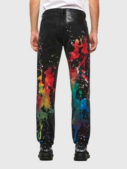 Diesel - D-Kras Slim Jeans 009QV, Black/Dark Grey - Jeans - Image 2