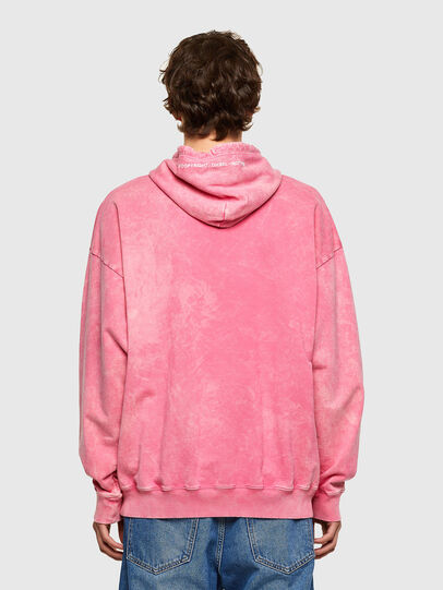 Diesel - S-UMMER-E2, Pink - Sweatshirts - Image 2