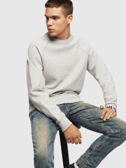 Diesel - S-KOBLER, Grey - Sweatshirts - Image 4