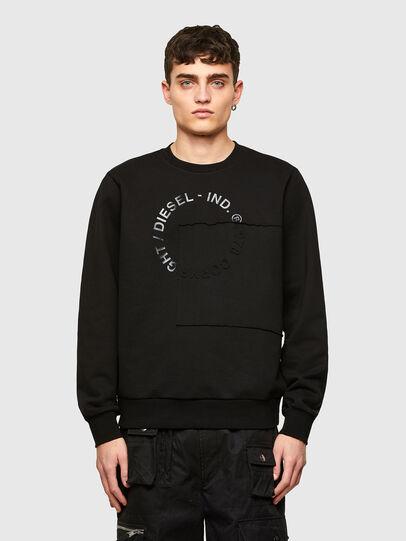 Diesel - S-GIRKEMB, Black - Sweatshirts - Image 1