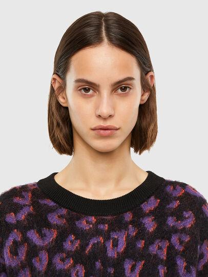 Diesel - M-RHONDA, Violet/Black - Sweaters - Image 3