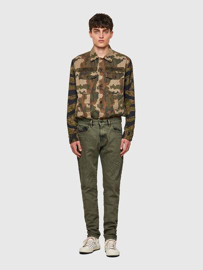 Diesel - D-Strukt Slim Jeans 09A50, Military Green - Jeans - Image 5