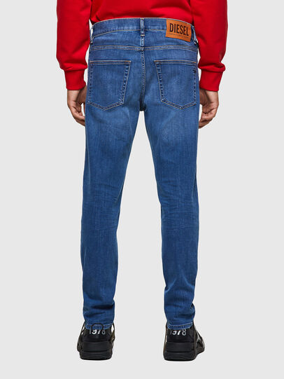 Diesel - D-Fining Tapered Jeans 09A80, Medium Blue - Jeans - Image 2