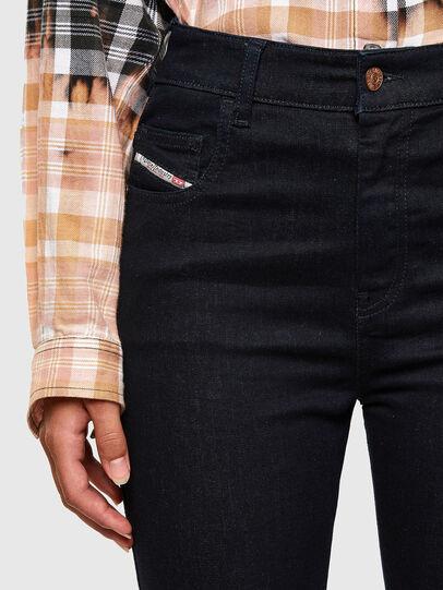 Diesel - Slandy High Skinny Jeans 009CW, Dark Blue - Jeans - Image 3