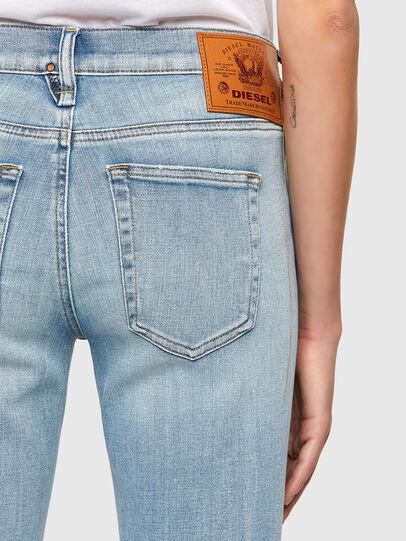 Diesel - D-Ebbey Bootcut Jeans 009TL, Light Blue - Jeans - Image 4