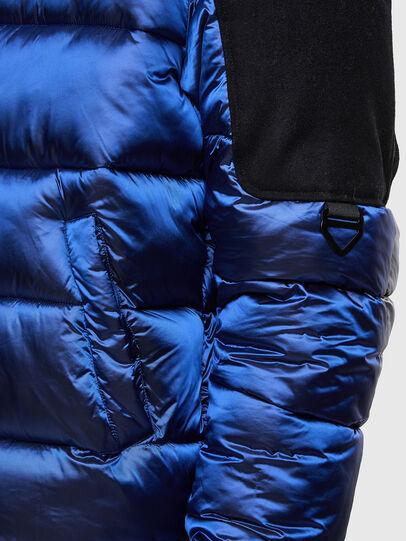 Diesel - W-NYWOOL, Blue - Winter Jackets - Image 4