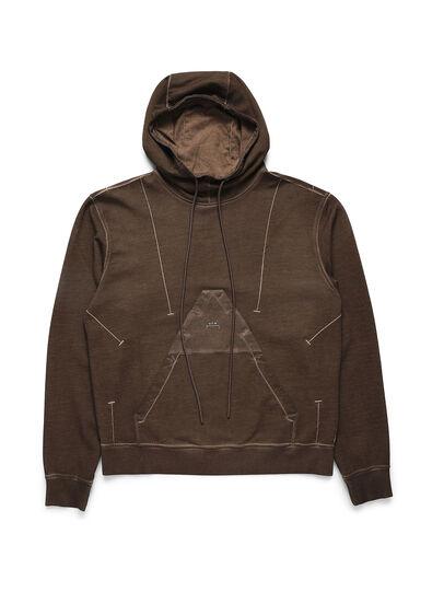 Diesel - ACW-SW02, Brown - Sweatshirts - Image 1