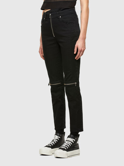 Diesel - D-Joy Slim Jeans 0688H, Black/Dark Grey - Jeans - Image 7