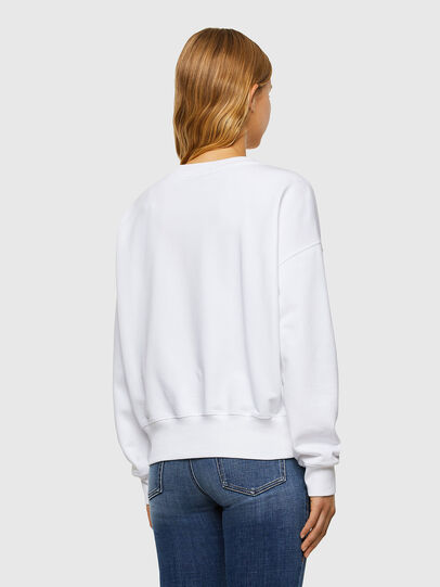 Diesel - F-MAGDA-V50, White - Sweatshirts - Image 2