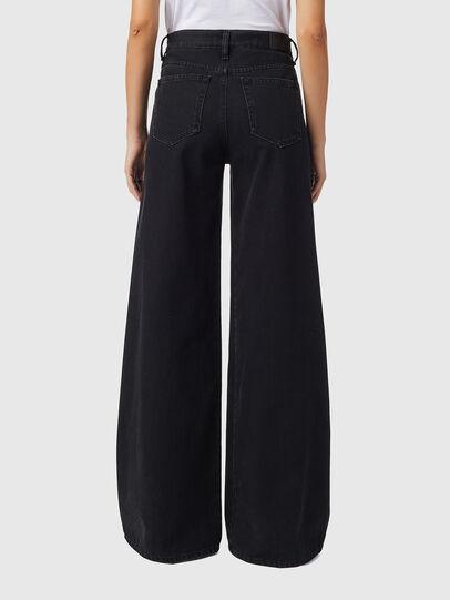 Diesel - D-Akemi Bootcut Jeans Z09RL, Black/Dark Grey - Jeans - Image 2