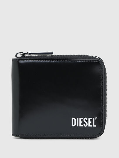 Diesel - HIRESH XS ZIPPI, Negro - Carteras Con Cremallera - Image 1