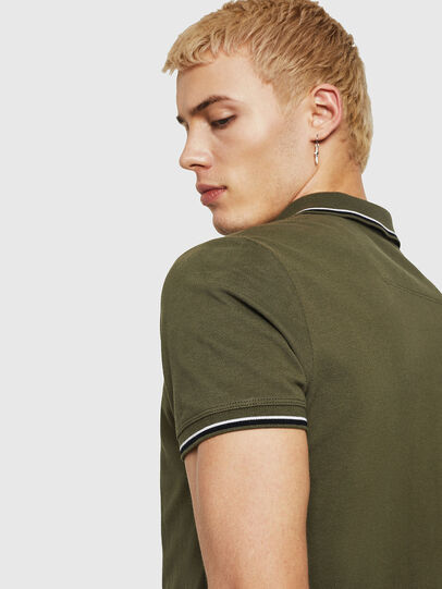 Diesel - T-RANDY-NEW, Military Green - Polos - Image 3