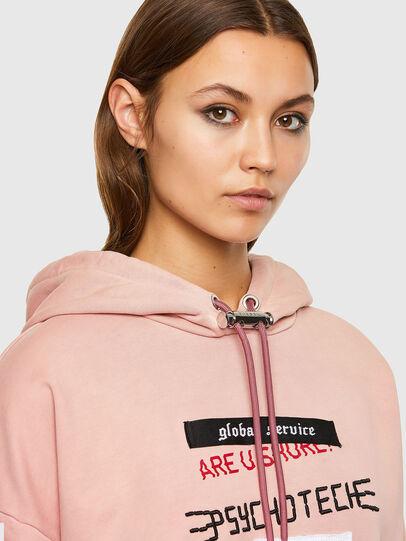 Diesel - F-MAGDALENA-V1, Pink - Sweatshirts - Image 3