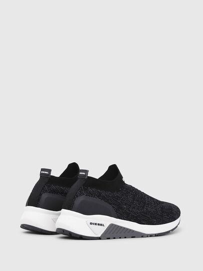 Diesel - S-KB ATHL SOCK, Black/Violet - Sneakers - Image 3