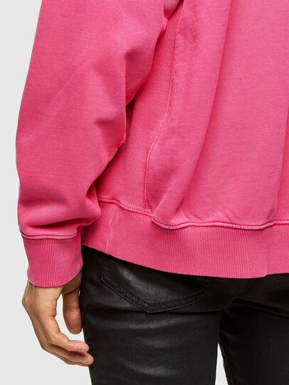 Diesel - S-UMMERIB-A81, Pink - Sweatshirts - Image 4