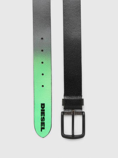 Diesel - B-SHADE, Black/Green - Belts - Image 3