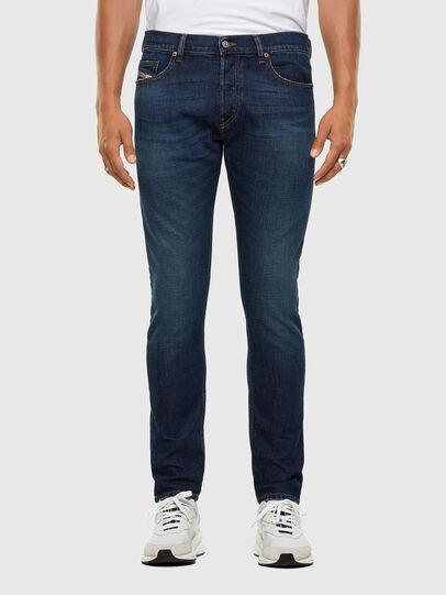 Diesel - D-Luster 009EL, Dark Blue - Jeans - Image 1
