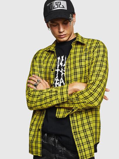 Diesel - S-TROPP, Yellow - Shirts - Image 1