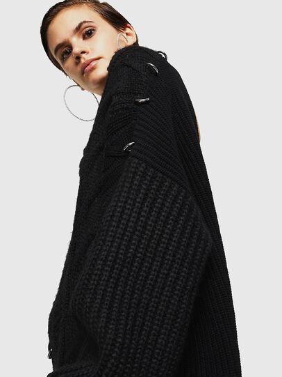 Diesel - MEBLY, Black - Sweaters - Image 5