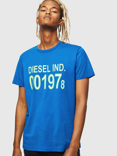 Diesel - T-DIEGO-001978, Brilliant Blue - T-Shirts - Image 1