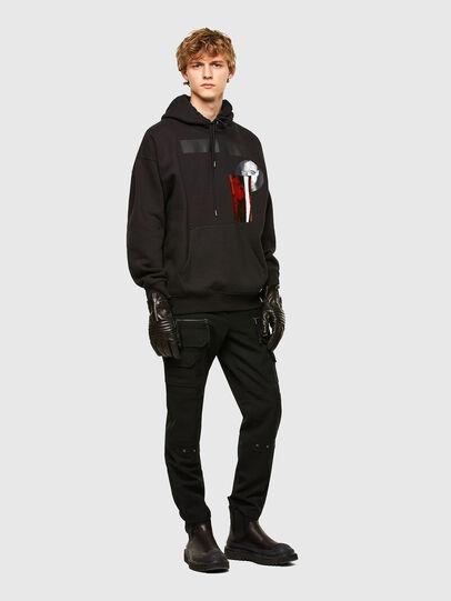 Diesel - S-HENON, Black - Sweatshirts - Image 5