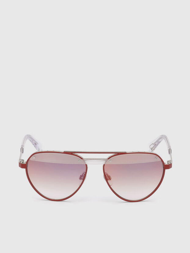 DL0261, Red - Sunglasses