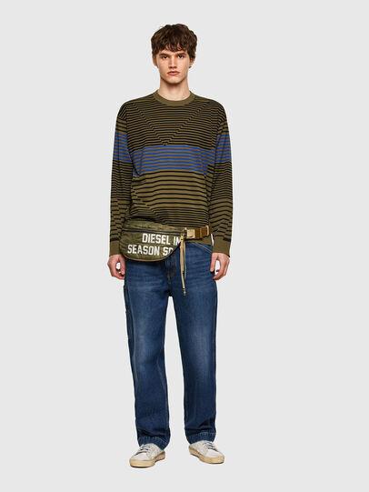 Diesel - K-BALTIC, Blue/Green - Sweaters - Image 5