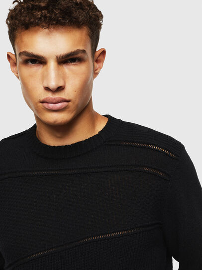Diesel - K-PATHY, Black - Sweaters - Image 3