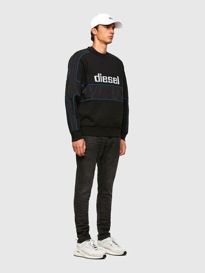 Diesel - S-LAIN, Black - Sweatshirts - Image 5