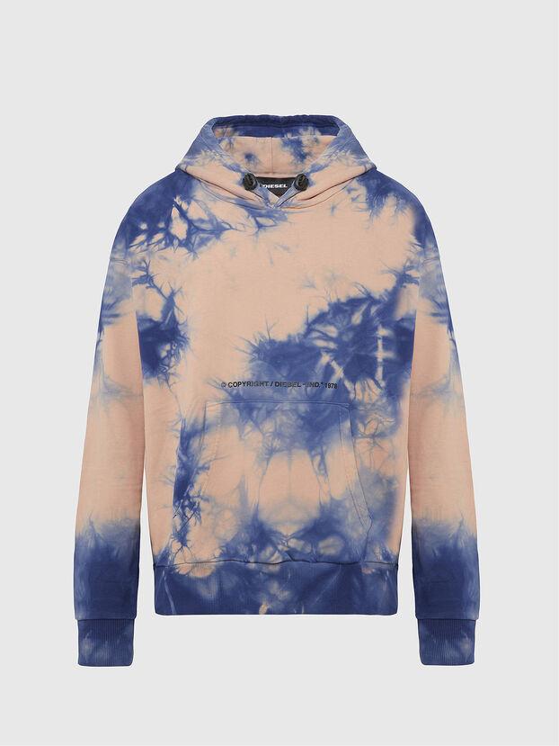 S-ALBYEL-X4, Blue/Pink - Sweatshirts
