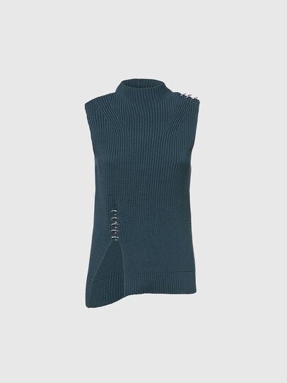 Diesel - M-ESSIE, Water Green - Sweaters - Image 1