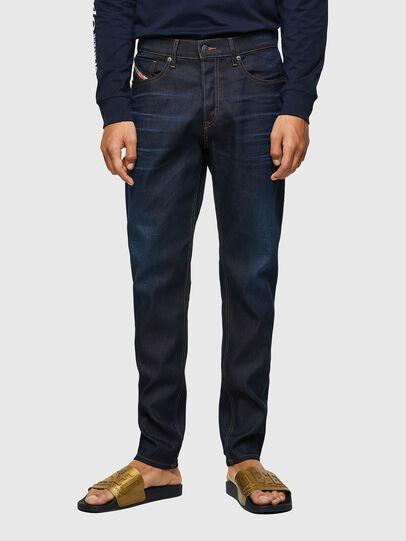 Diesel - D-Fining Tapered Jeans 09A45, Dark Blue - Jeans - Image 1
