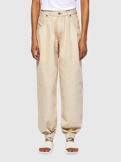 Diesel - D-Concias Boyfriend Jeans 009UV, White - Jeans - Image 1