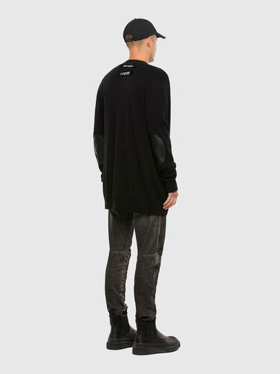 Diesel - K-ALEX, Black - Sweaters - Image 5