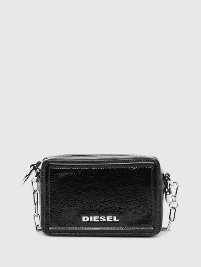 Diesel - ROSA' PCHAIN, Black - Crossbody Bags - Image 1