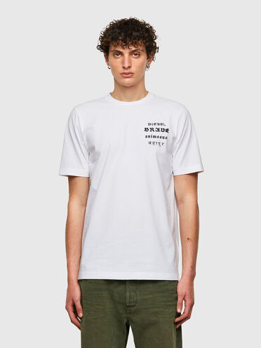 Green Label T-shirt with Brave print