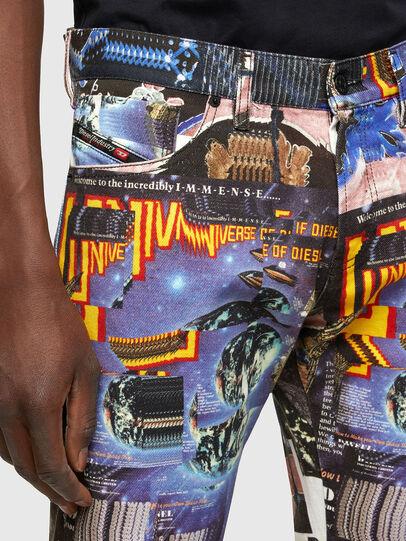 Diesel - D-Kras Slim Jeans 009VB, Multicolor - Jeans - Image 3