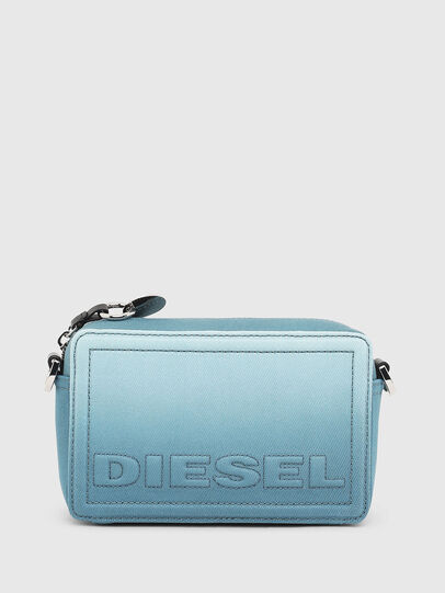 Diesel - ROSA', Light Blue - Crossbody Bags - Image 1