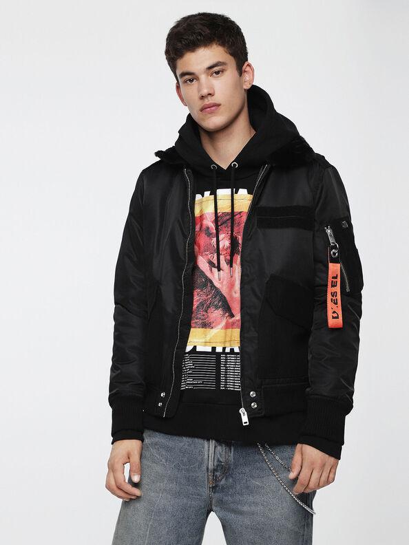 W-SLOTKIN, Black - Winter Jackets