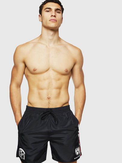 Diesel - BMBX-WAVENEW, Black - Swim shorts - Image 1