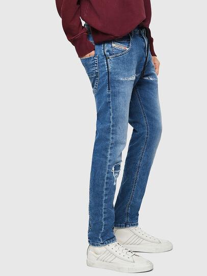 Diesel - Krooley JoggJeans 069IH, Light Blue - Jeans - Image 4